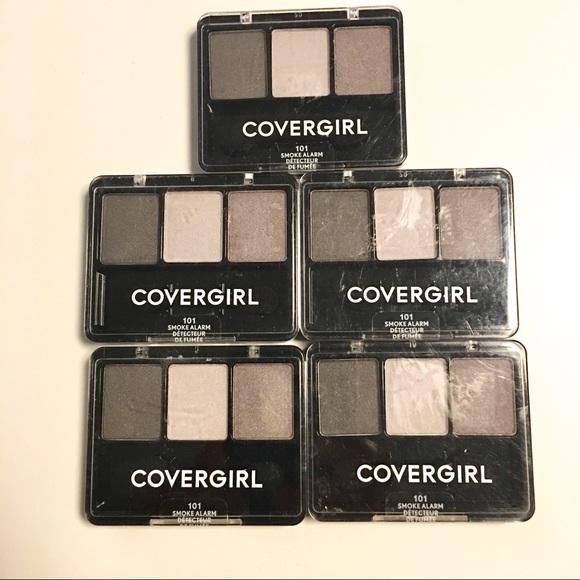 COVERGIRL Other - 5 CoverGirl Eye Enhancers Eyeshadow Smoke Alarm